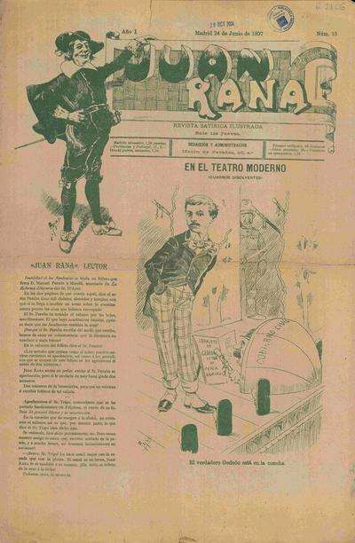 Juan Rana : revista satírica ilustrada