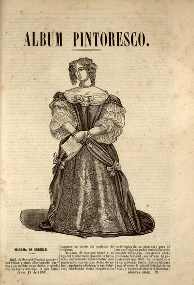 Album pintoresco de la Biblioteca española