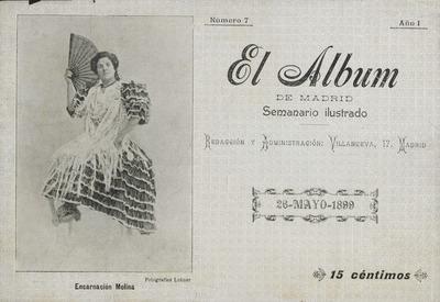 El Álbum de Madrid : semanario ilustrado