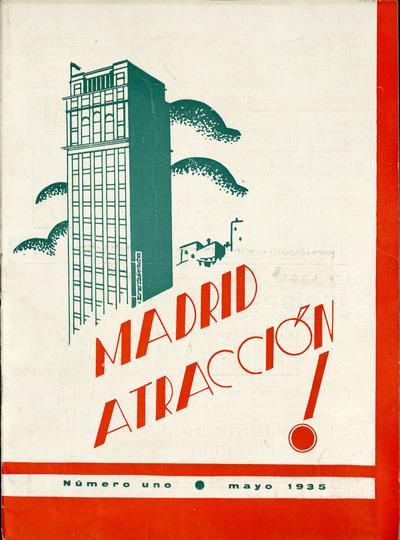 Madrid atracción : publicación gráfica