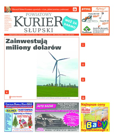Powiatowy Kurier Słupski, 2010, nr 22