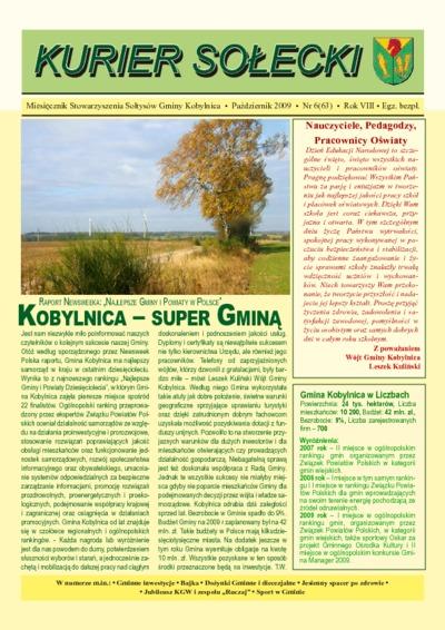 Kurier Sołecki, 2009, nr 6 (63)