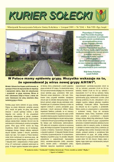 Kurier Sołecki, 2009, nr 7 (640