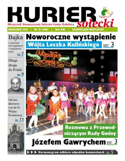 Kurier Sołecki, 2013, nr 12 (108)