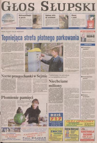 Głos Słupski, 2002, październik, nr 243