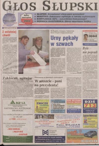 Głos Słupski, 2002, październik, nr 251