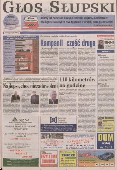 Głos Słupski, 2002, październik, nr 252