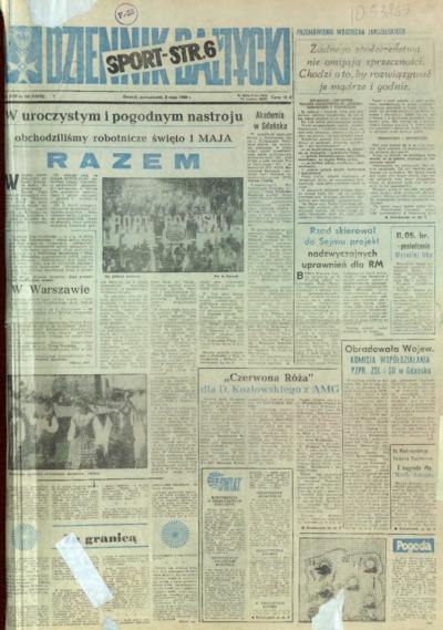Dziennik Bałtycki, 1988, nr 101