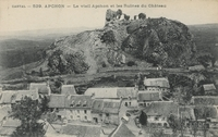 Apchon - Le vieil Apchon et les ruines du Château
