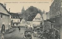 Rochefort-Montagne.-L'église et le château