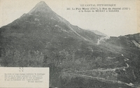 Le Puy Mary (1787 m), le Pas de Peyrol (1582 m) et la Route de Murat à Salers