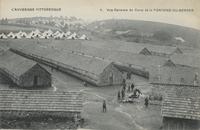 Vue générale du camp de la Fontaine-du-berger