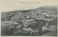 Thiers (Puy-de-Dôme).-Panorama de la ville