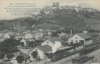 Saint-Flour (Cantal). Vue générale prise de Bellevue