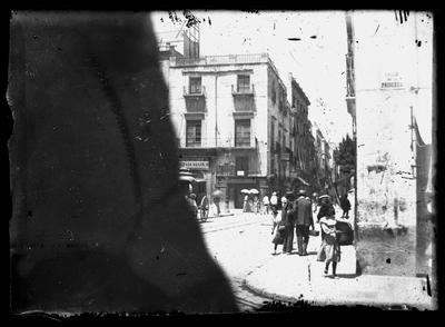 Vista general de la calle de la Princesa