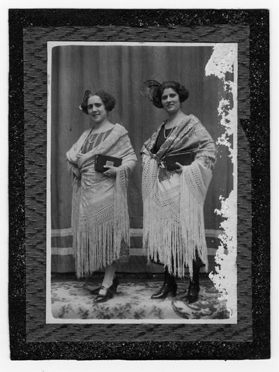 Retrato de dos señoras
