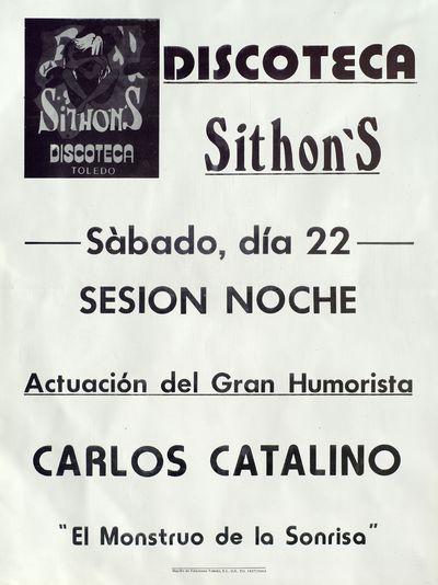 Discoteca Sithon's [ [Material gráfico]: sábado, día 22, Sesión noche.