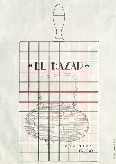 El bazar [ [Material gráfico]: C/ Chapinería, 17 Toledo.