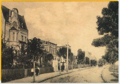 Ulica Wolności w Wąbrzeźnie