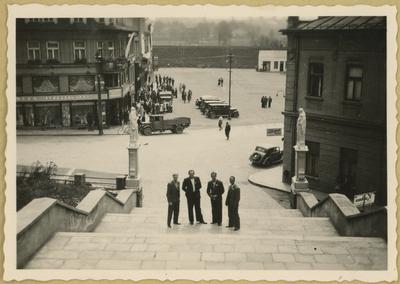 Czterej mężczyźni na wycieczce