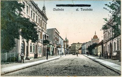 Ulica Toruńska w Chełmży