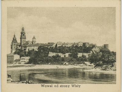 Wawel od strony Wisły