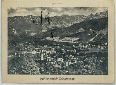 Ogólny widok Zakopanego