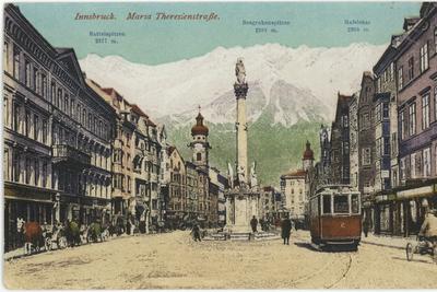 Innsbruck. Ulica Marii Teresy