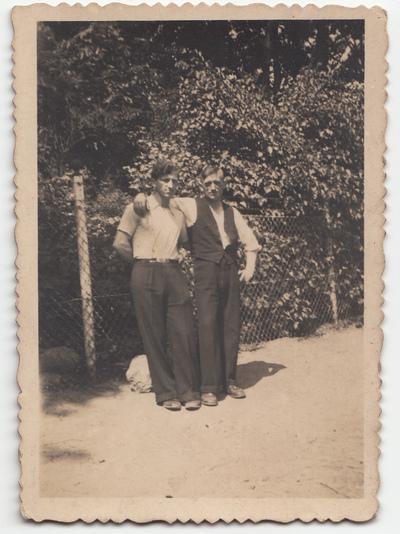 Portret dwóch mężczyzn