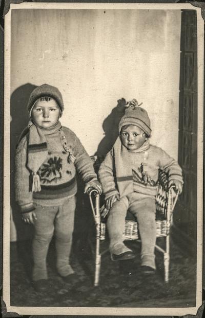 Portret dwojga dzieci