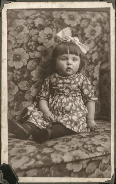 Portret małej Zofii Szczygielskiej