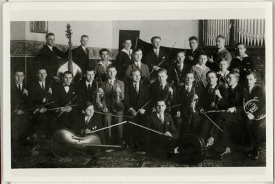 Portret zbiorowy muzyków