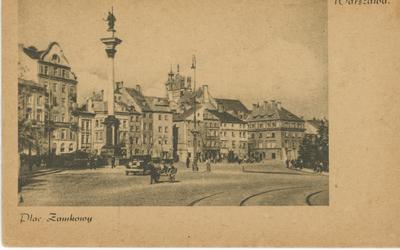 Warszawa. Plac Zamkowy.