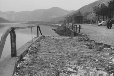Hochwasser 1952 an der Mosel