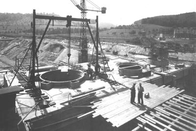 Kraftwerksbaustelle Limbach/Main