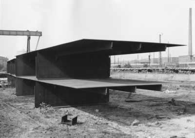 Stahlbau Schiffshebewerk Lüneburg/Elbe-Seitenkanal