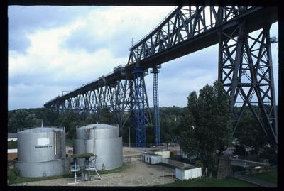 Eisenbahnhochbrücke Rendsburg/Nord-Ostsee-Kanal (NOK)