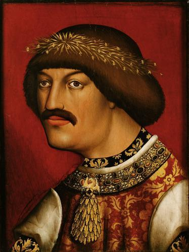 König Albrecht II. (1397-1439), Brustbild