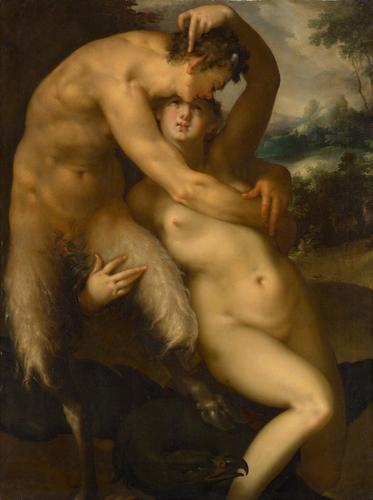 Jupiter und Antiope