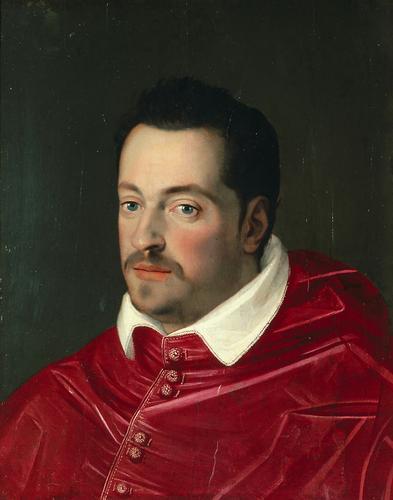 Großherzog Ferdinando I. (1549-1609) von Toskana als Kardinal, Brustbild