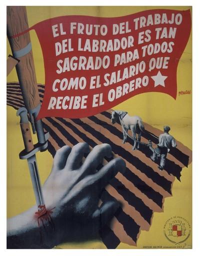 El fruto del trabajo del labrador es tan sagrado para todos como el salario que recide el obrero.