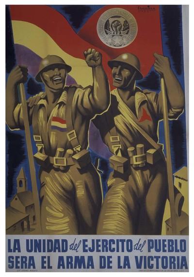 La unidad del ejército del pueblo será el arma de la victoria.