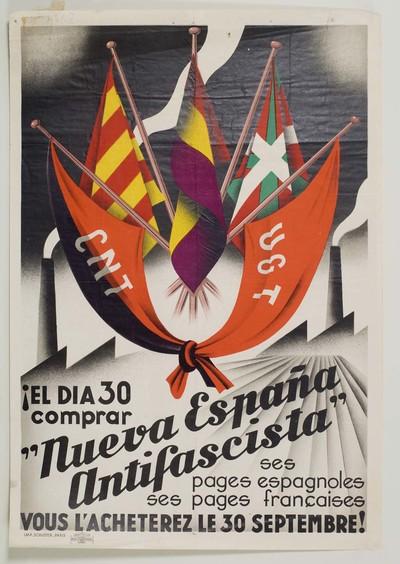 ¡El día 30 comprar Nueva España Antifascista ses pages espagnoles ses pages français. Vous l'acheterez le 30 septembre!