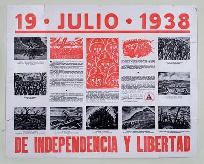 19 Julio 1938. De independencia y libertad.