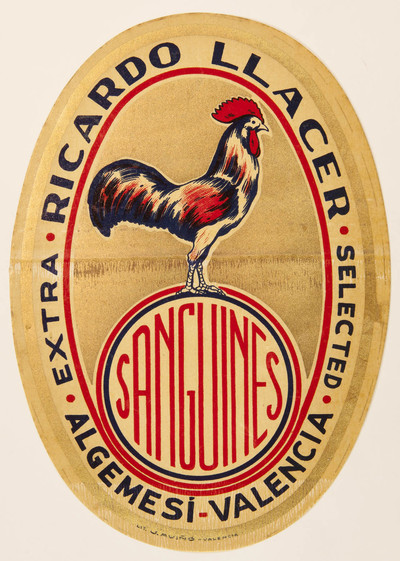 Sanguines [Material gráfico]: extra selected : Ricardo Llácer : Algemesí - Valencia.