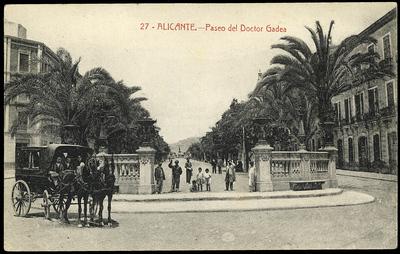 Paseo del Doctor Gadea [Material gráfico]: Alicante