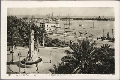 Plaza de Canalejas [Material gráfico]: Alicante