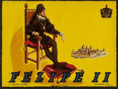 Felipe II [Material gráfico]: J. Crespo Fayos : Carcagente - España.