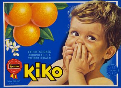 Kiko [Material gráfico]: Exportaciones Agrícolas, S.A. : Valencia (España).
