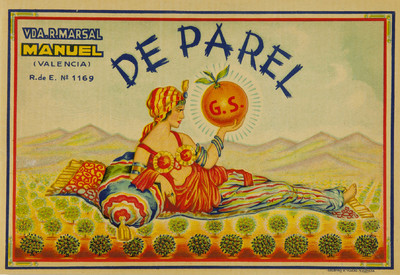 De parel [Material gráfico]: Vda. R. Marsal : Manuel (Valencia) : R. de E. Nº 1169.